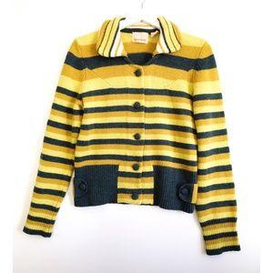 Anthropologie Sparrow striped cardigan, size M